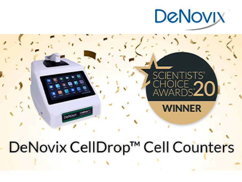 DeNovix CellDrop™ awarded the